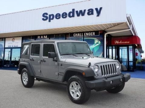 Certified Pre-Owned 2017 Jeep Wrangler Unlimited Unlimited Sport 4WD SUV