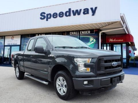 Pre-Owned 2016 Ford F-150 XL 4WD Truck