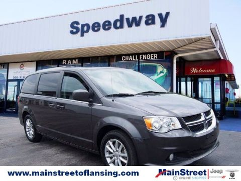 Pre-Owned 2019 Dodge Grand Caravan SXT FWD Minivan