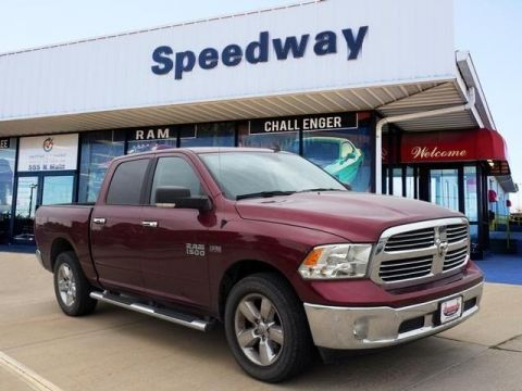 Pre-Owned 2018 RAM 1500 SLT 4WD Truck